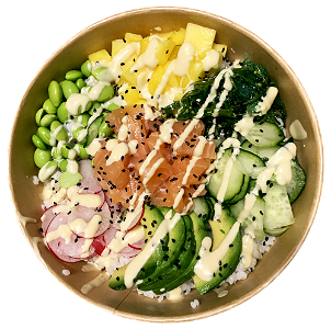 Foto Pokebowl Fresh Salmon