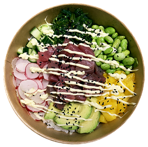 Foto Pokebowl Spicy Tuna