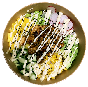Foto Pokebowl Spicy Chicken